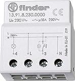 Finder Serie 13–Elektrorelais Impulsschalter, einpolig 230V 10A