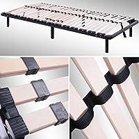 i-flair® Lattenrost, Gästebett auf Füßen, für alle Matratzen geeignet - alle Größen (90cm x 200cm)
