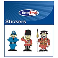 British Sticker - ONE SHEET Policeman, Queen