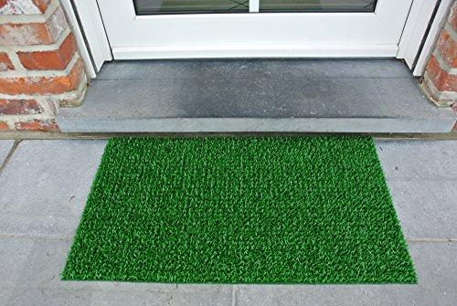 AstroTurf Classic Fußmatte, Fußabstreifer Eingangsmatte für Innen- und Außenbereich, Unvergleichliche Reinigungsleistung Polyethylen Frühlingsgrün 70x40x2 cm