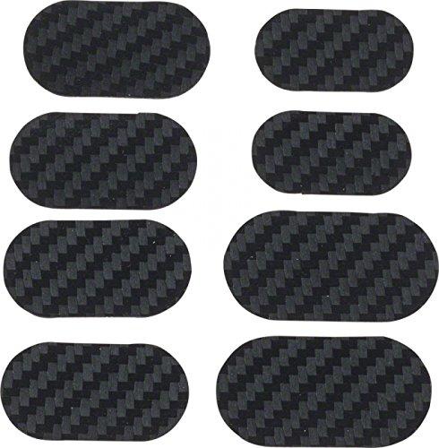 Lizard Skins Patchset für Fahrradrahmen, Karbonleder, Schützt gegen Kabelabrieb, 6 Patches -