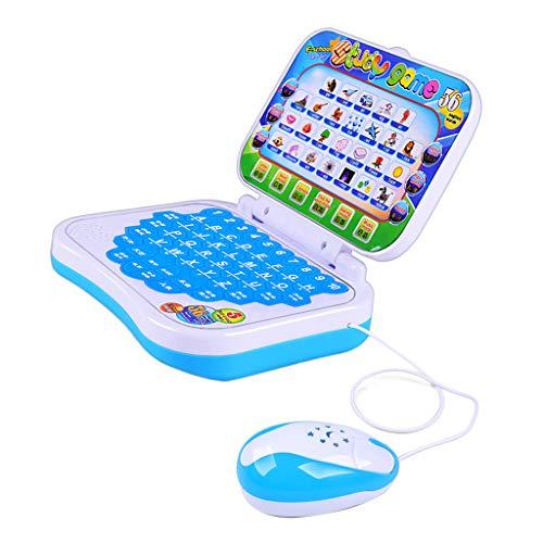 F Fityle Kinder Lerncomputer Lernlaptop Laptop Spielzeug Lenspielzeug, Verbessern der Kinder Vorstellungskraft
