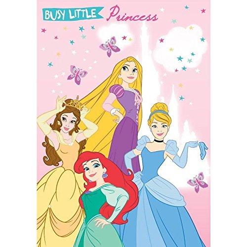Disney Princess - Gästetuch / Handtuch/ Gesichtstuch 40x 60 cm 100% Baumwolle - Pink