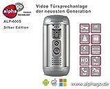 LAN IP Video-Türsprechanlage ALP-600S-Gegensprechanlage-Türüberwachung-kein Cloud Server-Fritz!Fon C4/C5 kompatibel-Steuerung über PC/Smartphone / Tablet-FTP Anbindung