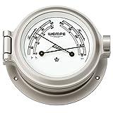 Comfortmeter Nautik Nickel Ø 120mm - Thermometer Hygrometer