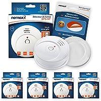 Nemaxx SP5 Detector de humo NF – Calidad Detector – Detector de Fuego Certificado Din En