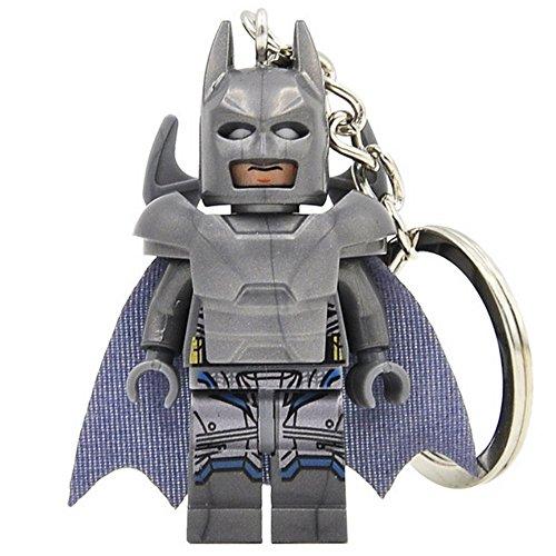 Batman Armure lourde (vient du film contre superman) Figurine Style module de construction porte clé Z7