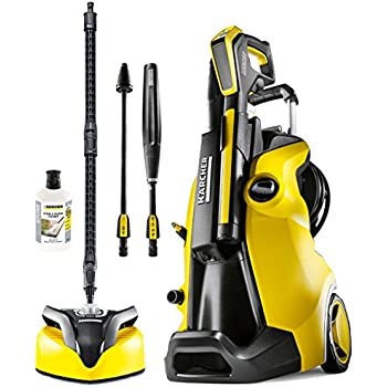 Karcher K5 Premium Full Control Home Pressure Washer - Yellow/Black