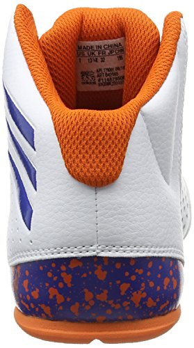 adidas Nxt Lvl Spd Iv Nba K, Scarpe da Basket Bambino Bianco (Blanco (Ftwbla / Azul / Naranj))