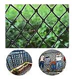 Rete Decorativa Nera Rete Anti-Caduta Asilo Rete di Protezione for Bambini Rete di Sicurezza for Balconi Bar Ristorante Rete da Soffitto Rete da Calcio Rete da Calcio Rete da Pesca for Uccelli