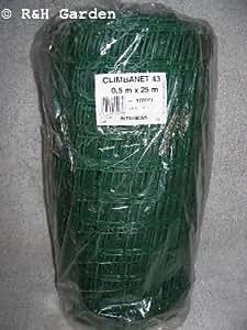 TREILLIS FILET DE PROTECTION EN PLASTIQUE RIGIDE ULTRA RÉSISTANT VERT 0,5 M x 25 M-P &P