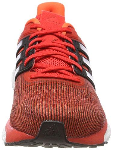 adidas Supernova, Chaussures de Running Compétition Homme, Noir Orange (Solar Orange/night Met. F13/hi-res Red S18 Solar Orange/night Met. F13/hi-res Red S18)
