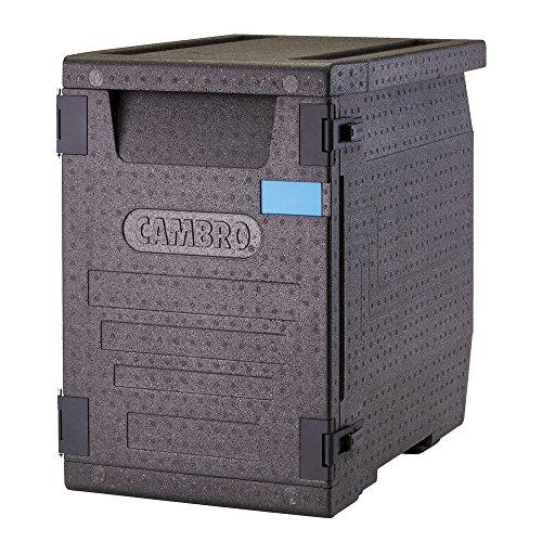 Cambro CAM GoBox Contenedor Isotermico, Negro, 66 x 44 x 65 cm
