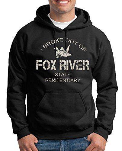 TLM Fox River Kapuzenpullover Herren L Schwarz