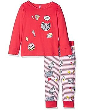 Lina Pink Bf.Patch.Pl.Mz, Set Abbigliamento Sportivo Bambina