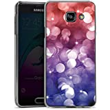 Samsung Galaxy A3 (2016) Housse Étui Protection Coque Étoiles Paillettes Lilas