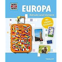 Rätseln und Stickern: Europa (WAS IST WAS - Rätselhefte)