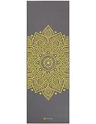 Gaiam–Alfombrillas para yoga impresión premium , Unisex, Esterilla para yoga, Citron Sundial, Citron Sundial, OS