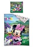 Disney Minnie und Daisy Bettwäsche 140 x 200 cm, Baumwolle