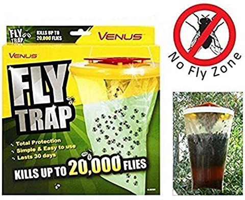 Invero® Rouge Drosophila Fly insectes Bug Catcher Wasp Poison gratuit