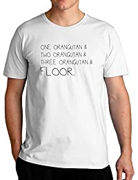 Eddany One Orangutan and two Orangutan and Orangutan and floor T-Shirt