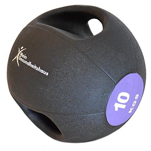 Medizinball mit 2 Griffen 10kg