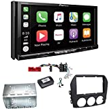 Pioneer AVH-Z9100DAB CarPlay Android Auto Digitalradio USB CD DVD Autoradio Touchscreen Moniceiver Navi Einbauset für Mazda MX-5 NC