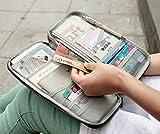 #7: Orpio New Travel Wallet Passport Holder Multifunction Credit Card Package ID Holder Travel Storage Bag