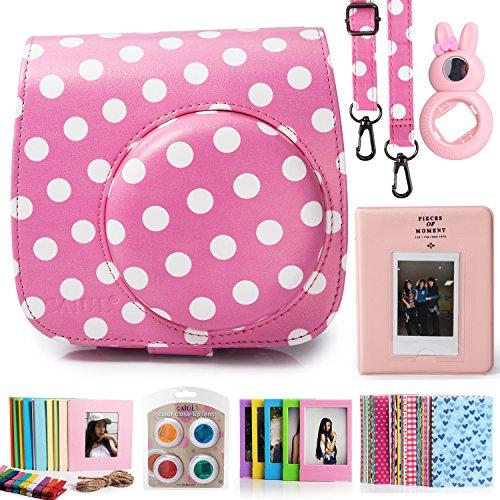 caiul-7-in-1-fujifilm-instax-mini-8-8-9-camera-accessories-bundles-pinkwhite-mini-8-case-mini-album-