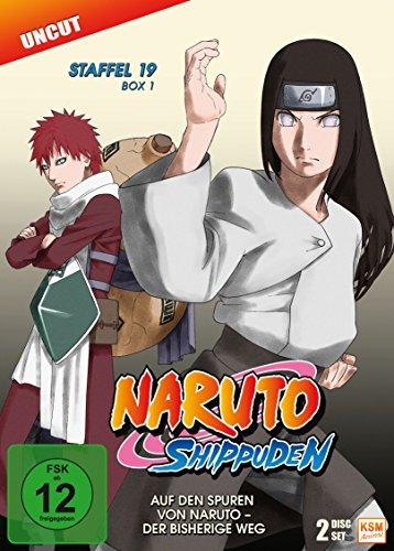 Naruto Shippuden - Auf den Spuren von Naruto - Der bisherige Weg - Staffel 19.1: Episode 614-623 [2 DVDs]