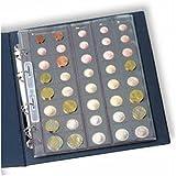 Leuchtturm, Album di monete Optima per 25monete Euro | Album per Germania, Portogallo, Spagna e molti altri paesi Europei