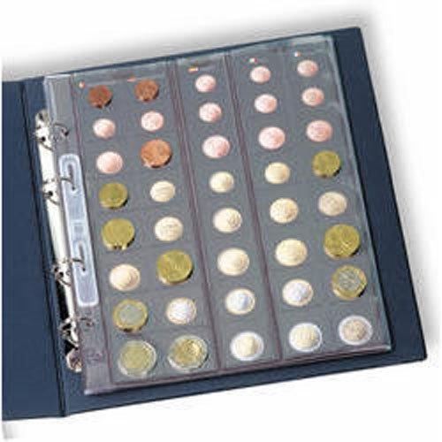 Leuchtturm 336883 Álbum Monedas Euro Formato Optima