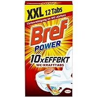 Bref Power WC Kraft Tabs, 4er Pack (4 x 300 g)