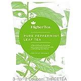 Pure Peppermint Leaf Tea 3 oz, By Higher Tea
