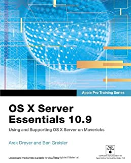 Apple Pro Training Series: OS X Server Essentials 10.9: Using and Supporting OS X Server on Mavericks (0321963547) | Amazon Products