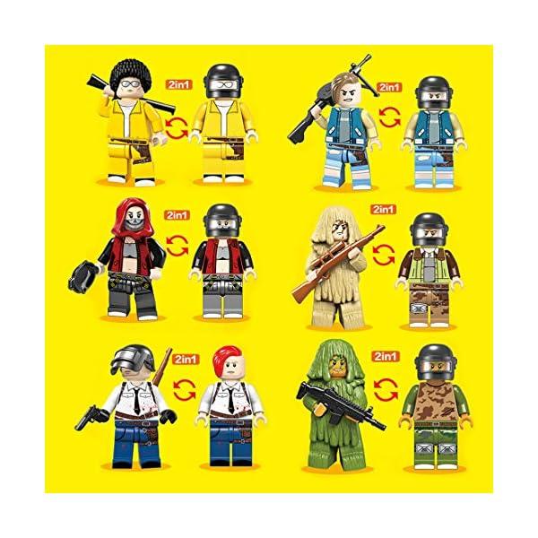 YVSoo Figuras de Juguete Playsets Personas Figuras de Acción Juegos de Construcción Muñecos Juguete para Niños Bebé 3