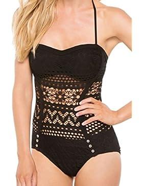 Le Beachwear Lace Spingere In Bikini Che Era Un Pezzo Di Costume Da Bagno