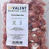 biVALENT Hühnerherzen 500g Rohfleisch | Hundefutter BarferLine (5x500g)