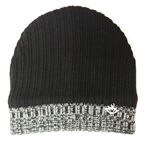 Sylan's Men's Sports Woollen winter Skull Cap Black  available at amazon for Rs.249