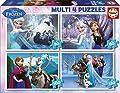 Educa Borrás- Frozen 50-80-100-150 Piezas Dibujos Animados y cómic Puzzle (16173) de Educa Borrás