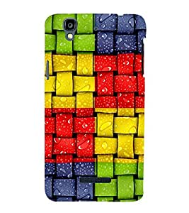 Colourful Weave Pattern 3D Hard Polycarbonate Designer Back Case Cover for YU Yureka :: YU Yureka AO5510