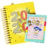 Alicia Souza - 2020 The Ultimate Planner | Free Pocket Planner & Planner Box | Goals & to-Do Lists | Cute Illustrations | Height - 22cm; Width - 17cm
