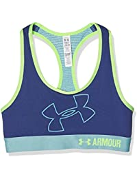 Under Armour Bra Fitness fille Bustier and Top Logo de bus Animal &