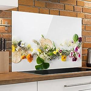 Spritzschutz herd glas 60x60 - Boutico.de
