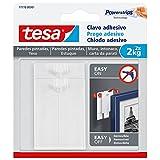 Tesa 77776-00001-00 Chiodo Adesivo per Carta da Parati ed Intonaco, Bianco