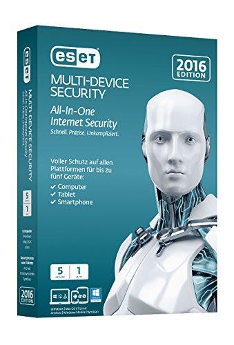 ESET Multi Device Security 2016 - 5 Geräte (Minibox)
