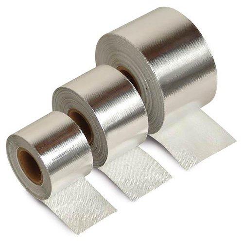 Auspuffhitzeband Hitzeklebeband Hitzeband Klebeband Hitzeisolierband Isolierband Widersteht Temperaturen bis 1500° (Selbstklebend)