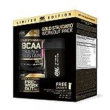Optimum Nutrition Boite de Gold Standard BCAA/Gold Standard Pre Work Out Nutrition Sportive/Shaker