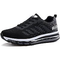 Unisex Herren Damen Sneakers Sportschuhe Bequeme Laufschuhe Schnürer Air Running Shoes 35-46