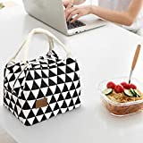 TAOtTAO Packet Thermische Isolierte Lunchbox Tote Kühltasche Bento Pouch Lunch Container (B)